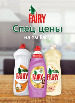 Спец цены на ТМ FAIRY