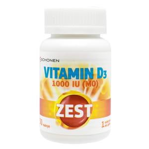 Витамины ZEST (Зест) Vitamin D3 (Витамин D3) 1000 капсулы 30 шт