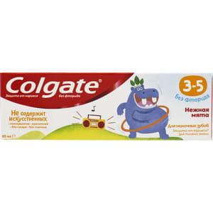 Зубная паста Colgate (Колгейт) детская Нежная мята без фторида с 3 до 5 лет 60 мл