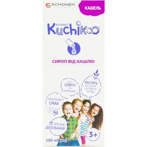 КУЧИКУ Кашель сироп от кашля для детей с 3 лет флакон 100 мл
